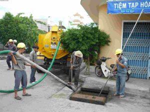 thông tắc cống hút bể phốt tại Hà Nội